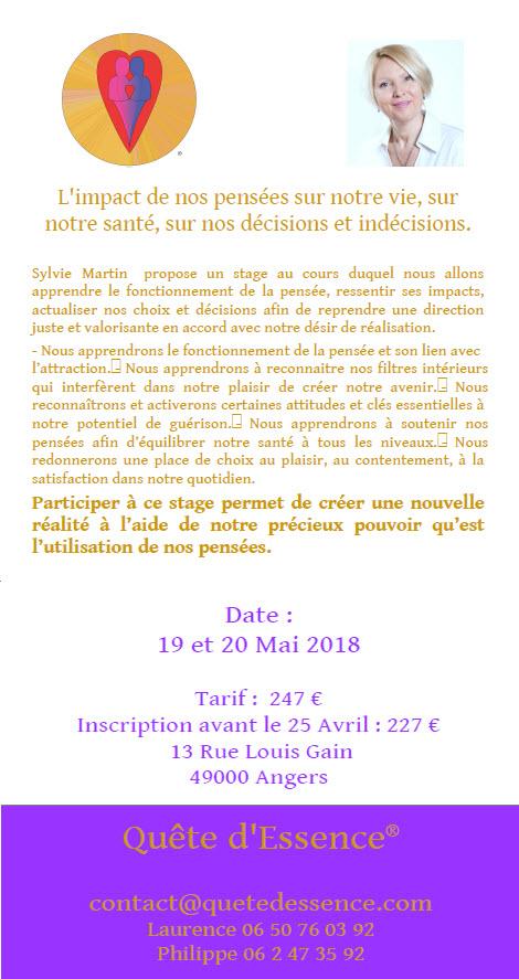 Sylvie à Angers, Maine-et-Loire, France du 17 au 23 mai 2018