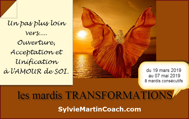 les mardis Transformation – commence 19 mars 2019